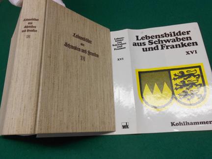 Lebensbilder aus Schwaben und Franken<. 16. Band der als Schwäbische Lebensbilder eröffneten Reihe. - Uhland [Hrsg.], Robert