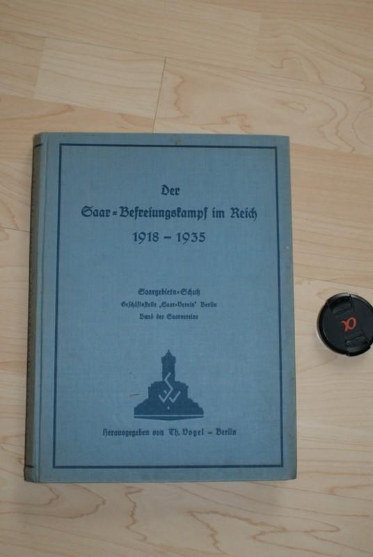 Der Saar-Befreiungskampf im Reich 1918 - 1935.: Vogel, Th. (Hrsg.):
