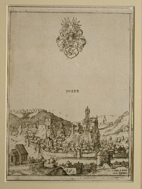 Dietz. Aus: Hessische Chronica.: Wilhelm Dilich: