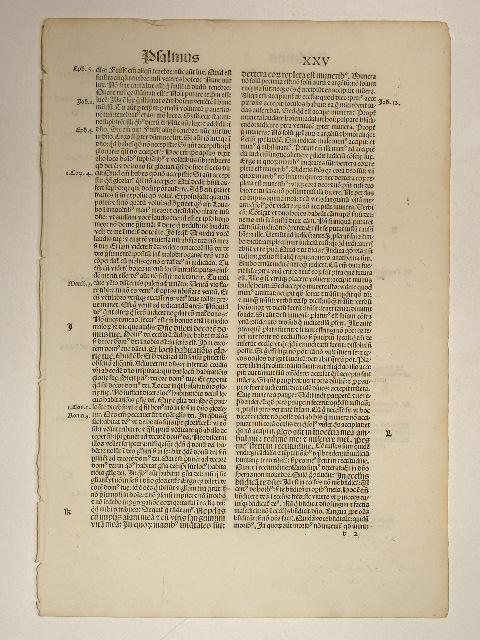 Explanatio psalmorum. (GW 2911, H 1972). Psalmus: Aurelius Augustinus: