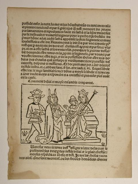 "Belial sive Consolatio peccatorum, franz. ""Comment belial: Jacobus de Theramo:"