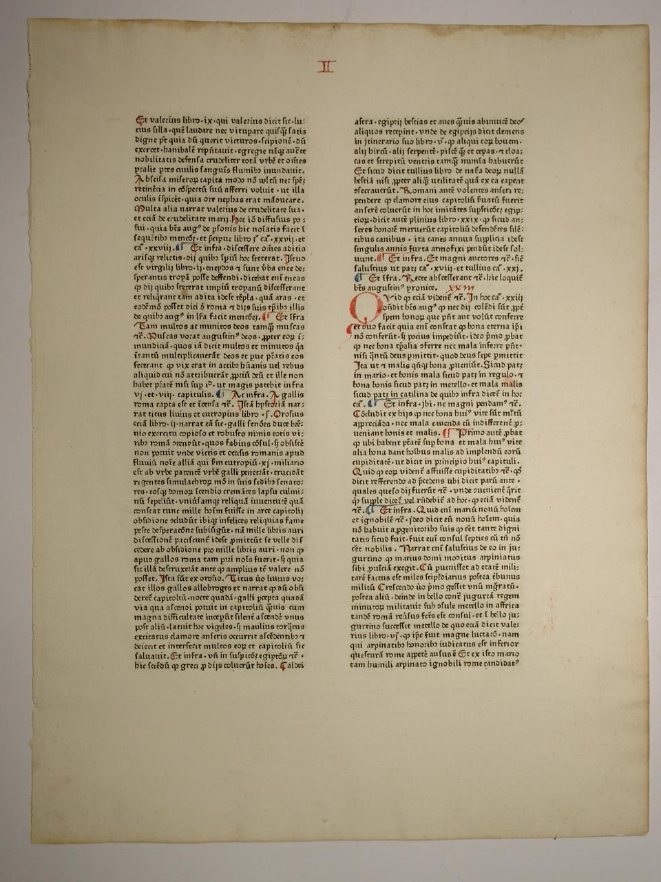 De civitate Die. Cum commento Thomae Valois: Aurelius Augustinus: