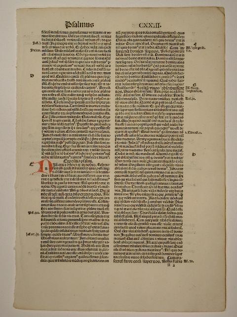 Explanatio psalmorum. Psalmus (GW 2911, H 1972).: Aurelius Augustinus: