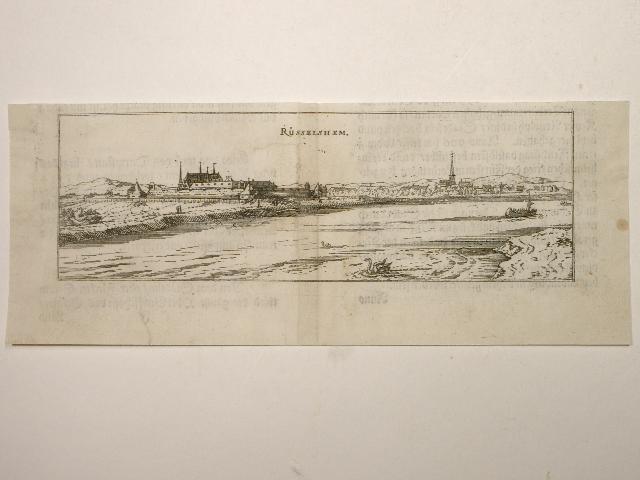 Rüsselsheim. Aus: Hessische Chronica.: Wilhelm Dilich (Scheffern):