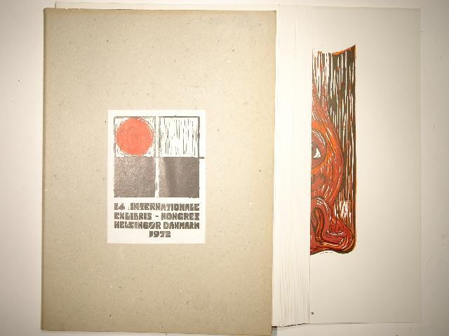 14. Internationale Exlibris-Kongress Helsingör Danmark 1972. Dansk: Frank Rubin; F.