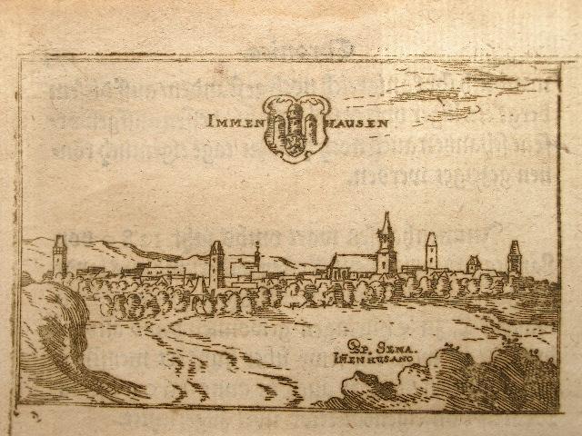Immenhausen. Aus: Hessische Chronica.: Wilhelm Dilich (Scheffern):