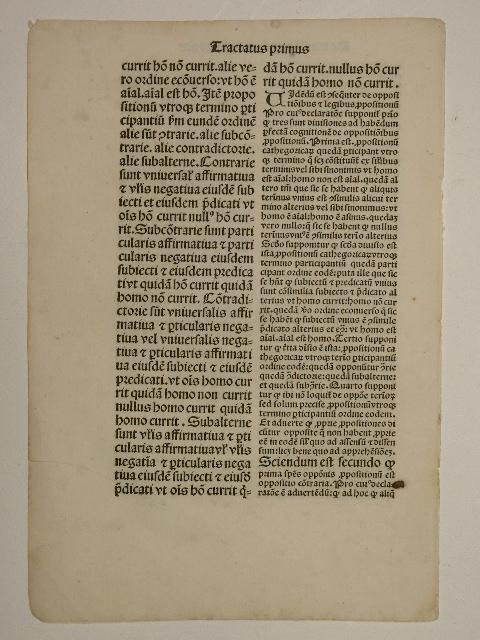 Exposito super summulae Petri Hispani (GWM 45223,: Petrus Tartaretus:
