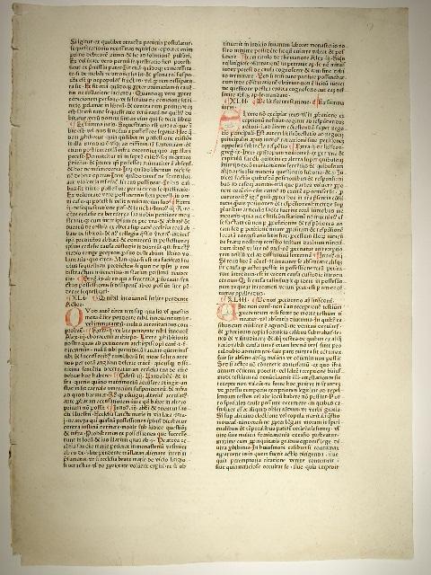 Speculum doctrinale. (C 6242, GW M50560 /: Vincentius Bellovacensis (Vincent