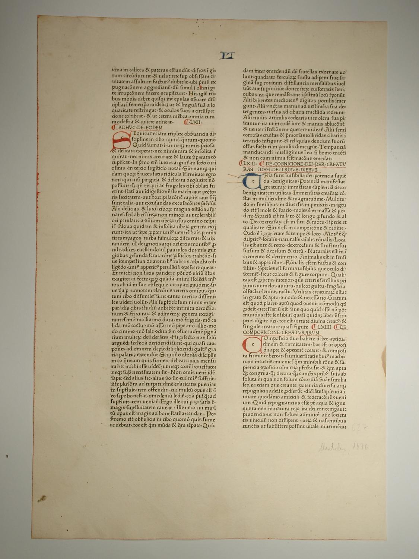 Speculum historiale (GWM 50587).Liber XXVII, Cap. LX-LXIIII.: Vincentius Bellovacensis (Vincent