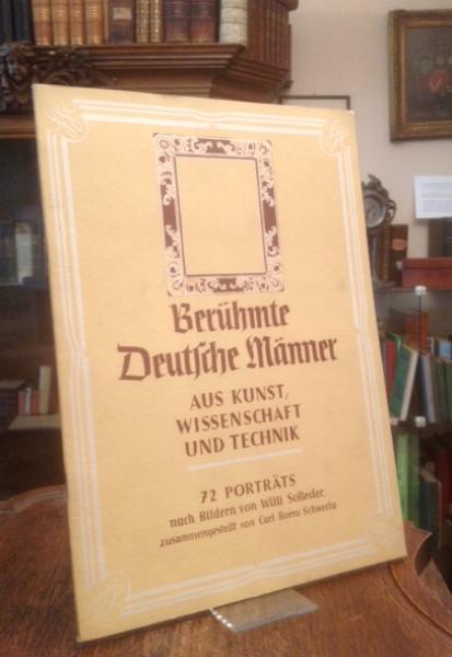 Berühmte Deutsche Männer Aus Kunst, Wissenschaft und: Köberich 30281.3. -