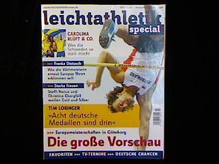 Leichtathletik special. Jahrgang 2006 SH 2 vom: Zeitschrift: