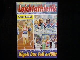 Leichtathletik. Jahrgang 1994 Nr.32/33 vom 18. August: Zeitschrift:
