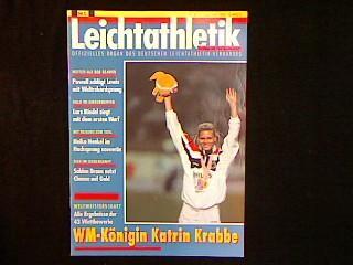 Leichtathletik. Jahrgang 1991 Nr.36 vom 5.September 1991.: Zeitschrift: