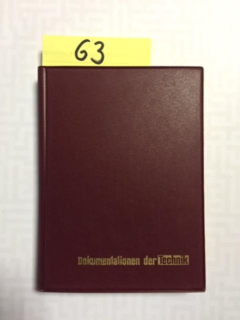 Handbuch der technischen Dokumentation und Bibliographie -: Saur, Karl-Otto und