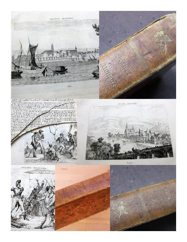 France militaire. Histoire des Armees Francaises de: Hugo, A. (Abel)