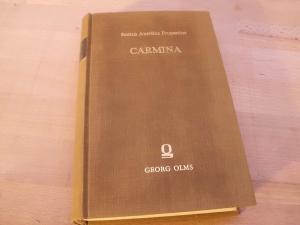 Carmina, Emendavit ad codicum meliorum fidem et: Propertius, Sextus Aurelius