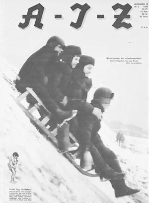 Arbeiter-Illustrierte-Zeitung. Jahrgang IX, Nr. 3, 1930.: AIZ.