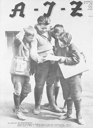 Arbeiter-Illustrierte-Zeitung. Jahrgang IX, Nr. 14, 1930.: AIZ.
