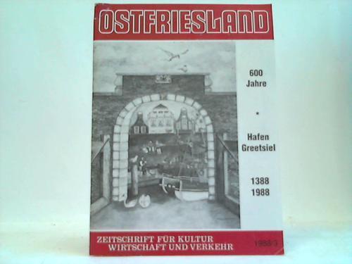 Zeitschrift für Kultur, Wirtschaft und Verkehr. 1988/3: Ostfriesland