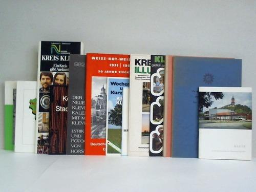 Sammlung von 13 Heften und Broschüren: Kleve