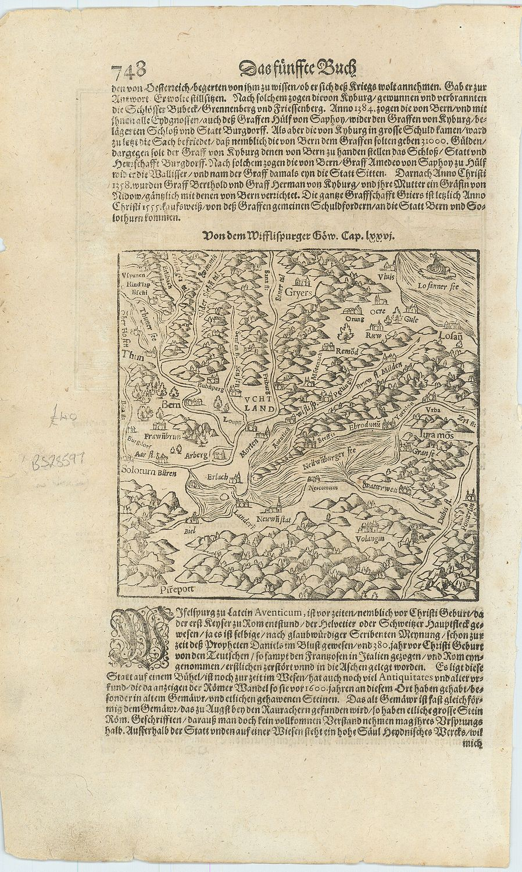 Von dem Wifflispurger Gow.: MUNSTER, Sebastian].