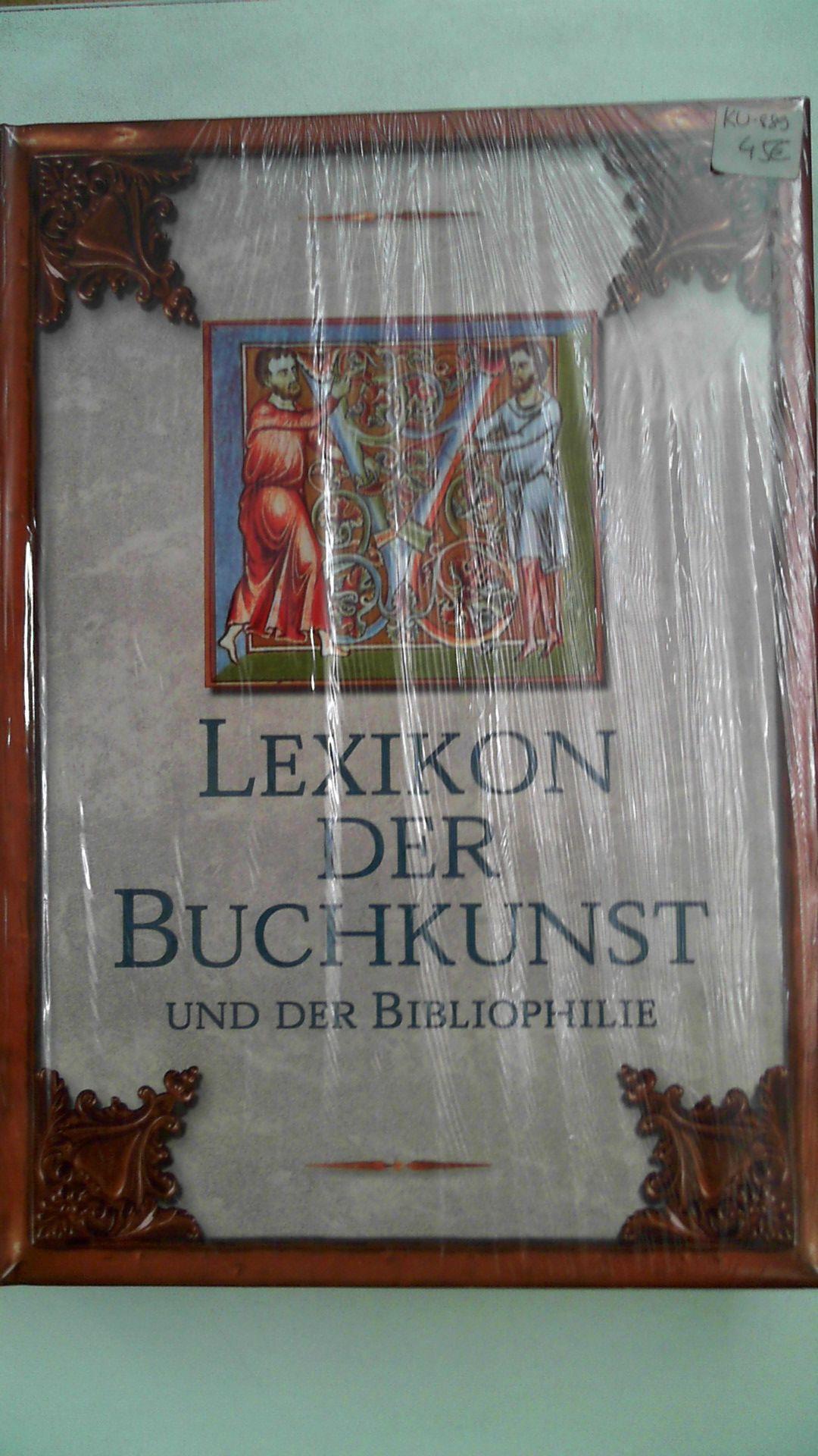 Lexikon der Buchkunst und der Bibliophilie,: Kl. Walther, Karl: