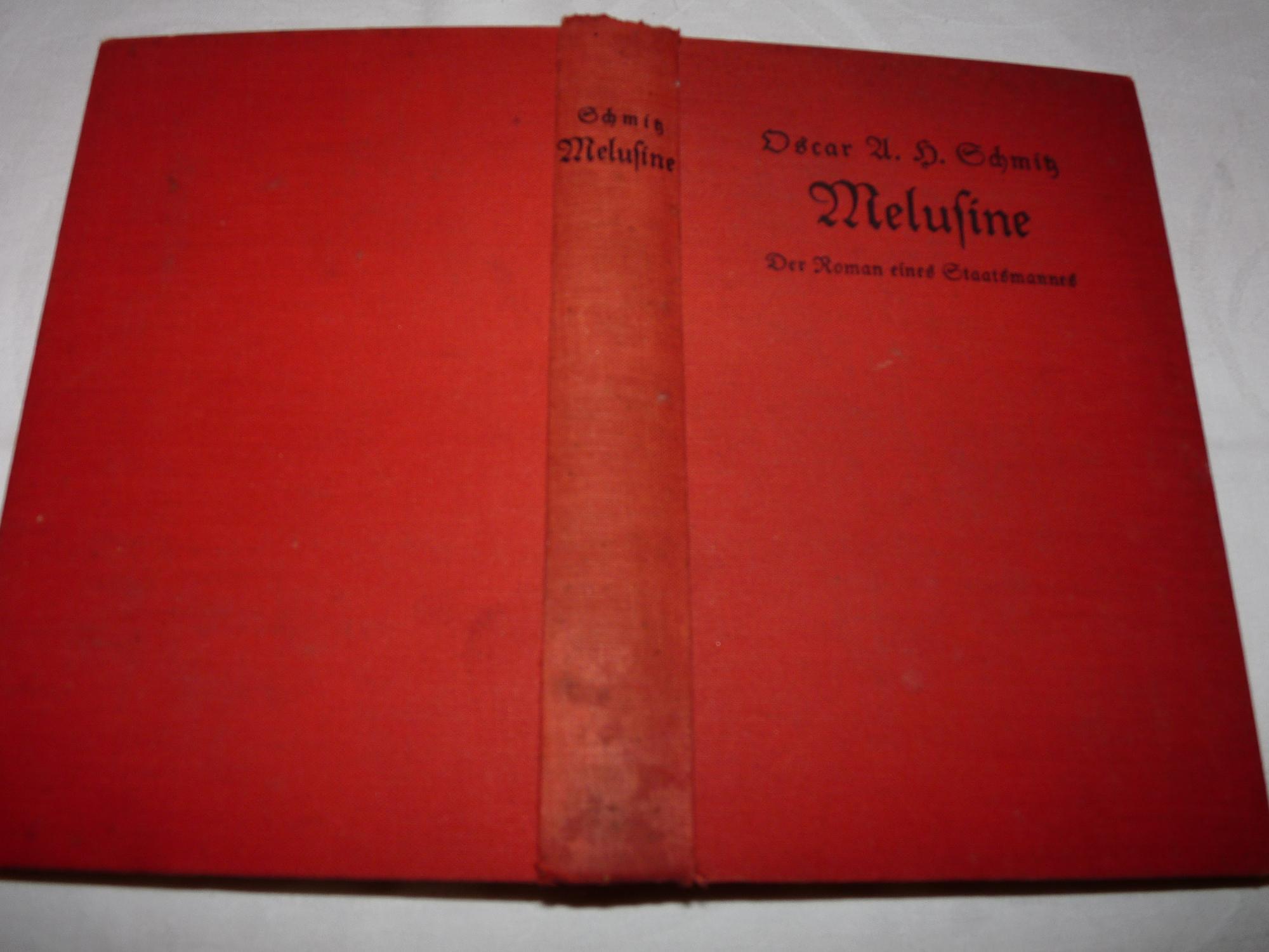 Melusine - Der Roman eines Staatsmannes -: Oscar A. H.