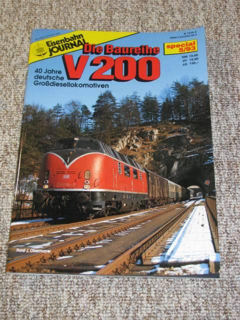 Sondernummer des Eisenbahn-Journal. special 5/93. Die Baureihe: Obermayer, Horst J.: