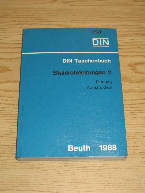 DIN-Taschenbuch 141 - Stahlrohrleitungen 2,: DIN Deutsches Institut