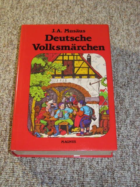 Volksmärchen der Deutschen,: Musäus, Johann August: