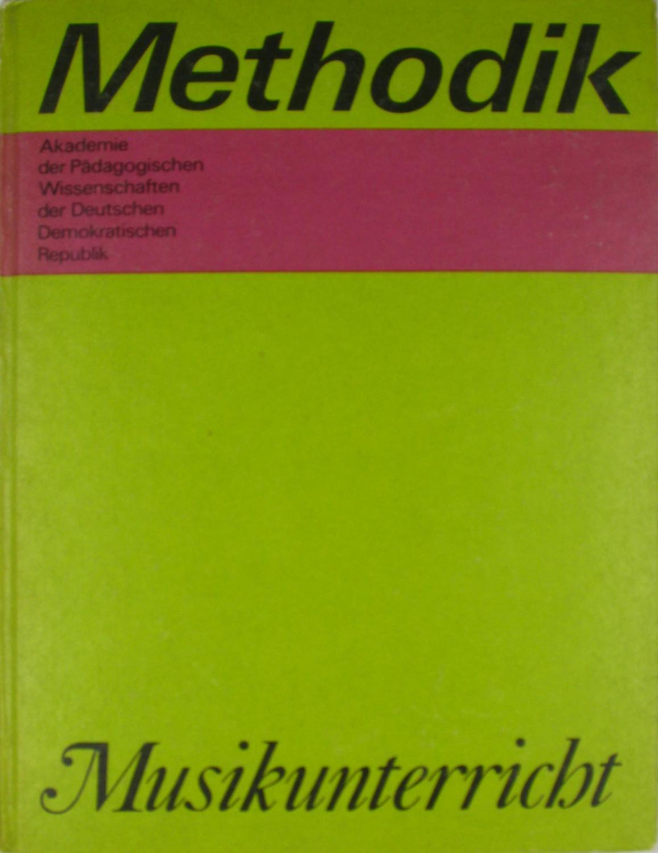 Methodik Musikunterricht,: Hoffmann, Karl: