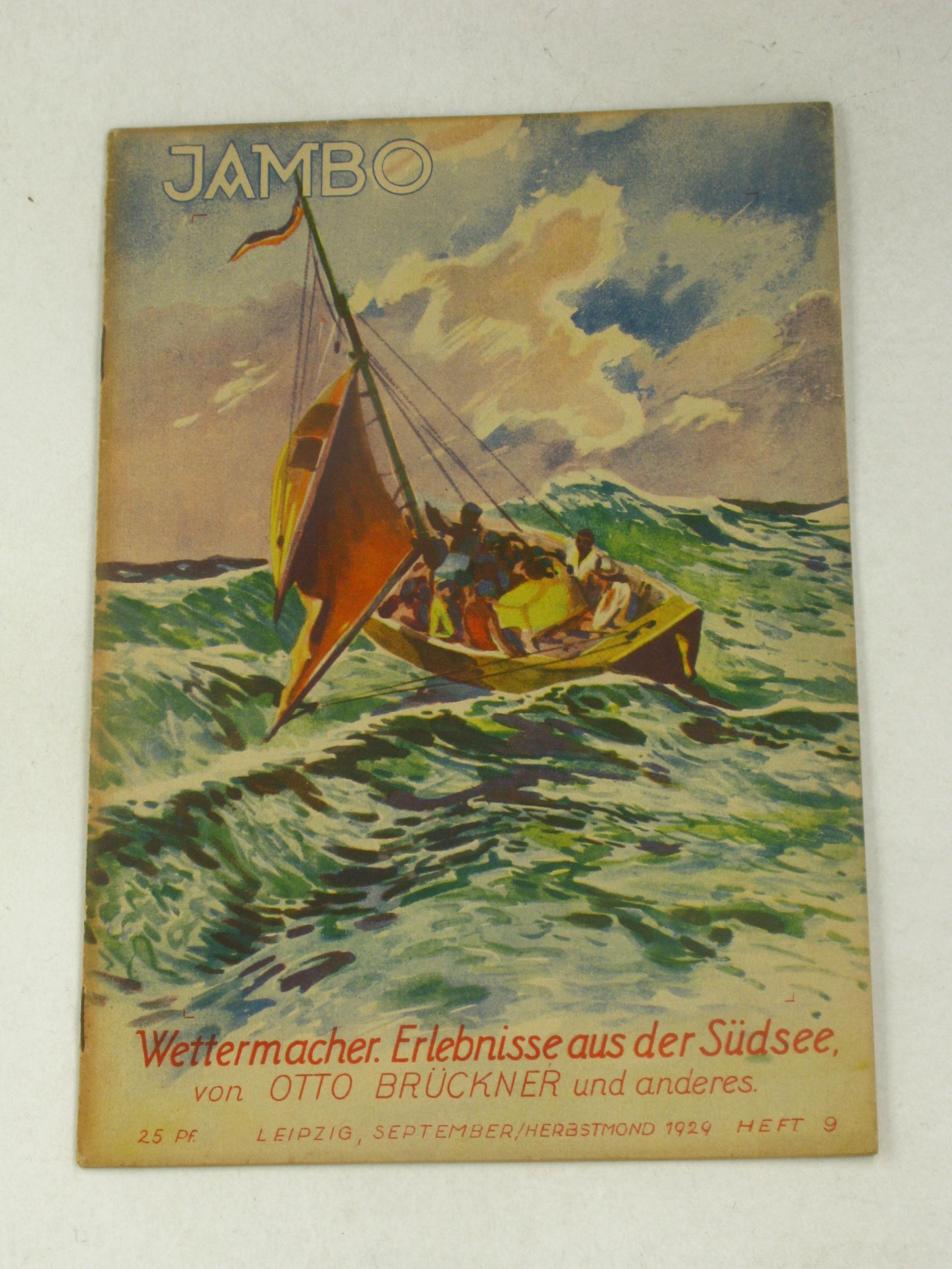 Wettermacher. Erlebnisse aus der Südsee.,: Brückner, Otto: