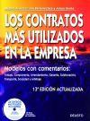 Los contratos más utilizados en la empresa 2008 - Miguel Ferrer , Jon Barrenechea , Ainoa Iriarte