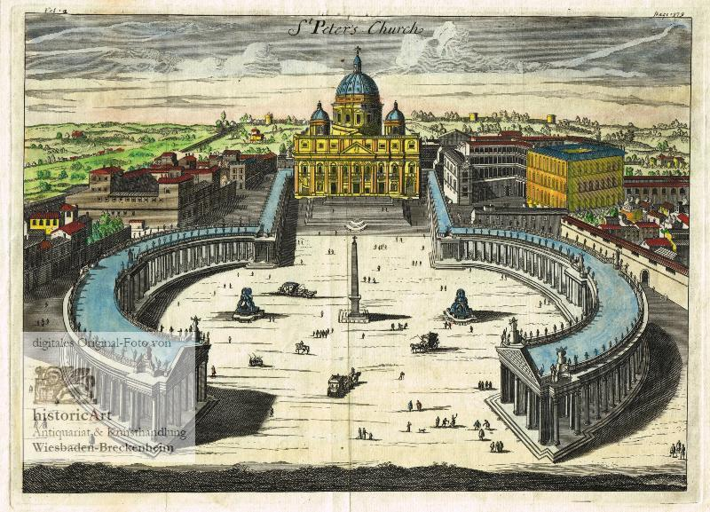 Poster 1449 Postereck Dom Vatikan Rom Italien Papst Kirche Peters- Platz
