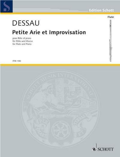 Petite Arie et Improvisation: Paul Dessau