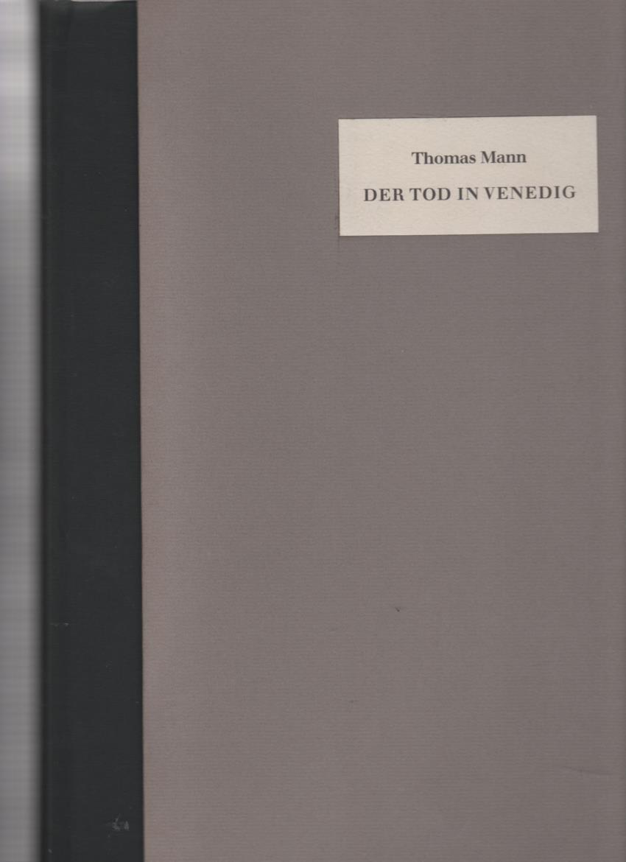 Der Tod in Venedig: Mann, Thomas