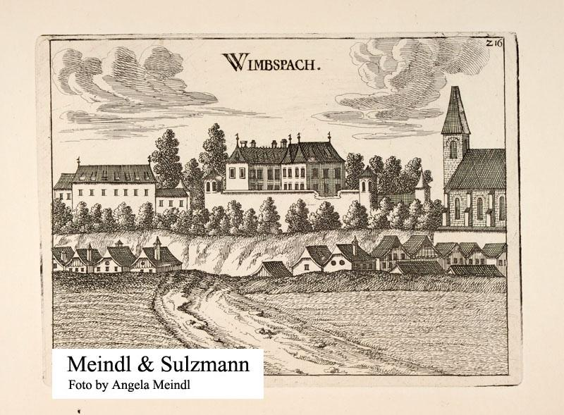 Topographia Austriae Superioris Modernae.: Wimsbach (Gem. Bad