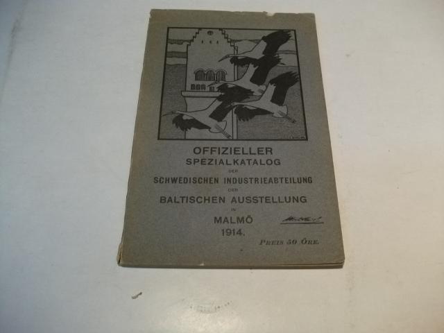 der schwedischen Industrieabteilung der Baltischen Ausstellung in: Offizieller Spezialkatalog