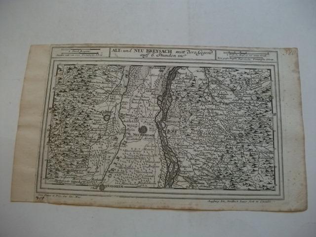 Alt- und Neu-Breysach mitt dero Gegend auff: Bodenehr, Gabriel (Kupfferstecher)