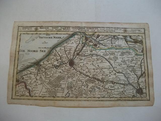 Brugge, Gent, Damme, oostende, Schluys und andere: Bodenehr, Gabriel (Kupfferstecher)