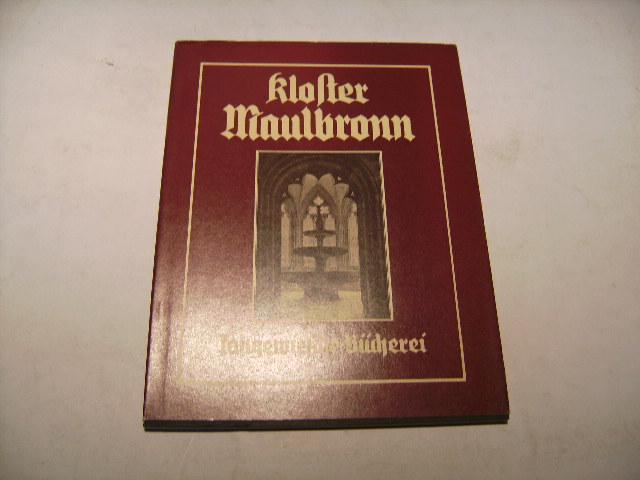 Kloster Maulbronn.: Clasen, Karl Heinz