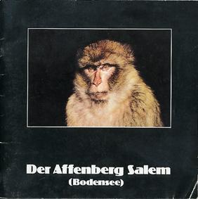 Der Affenberg Salem (Bodensee): Affenberg Salem