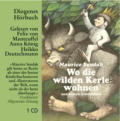 Wo die wilden Kerle wohnen, 1 Audio-CD: Maurice Sendak