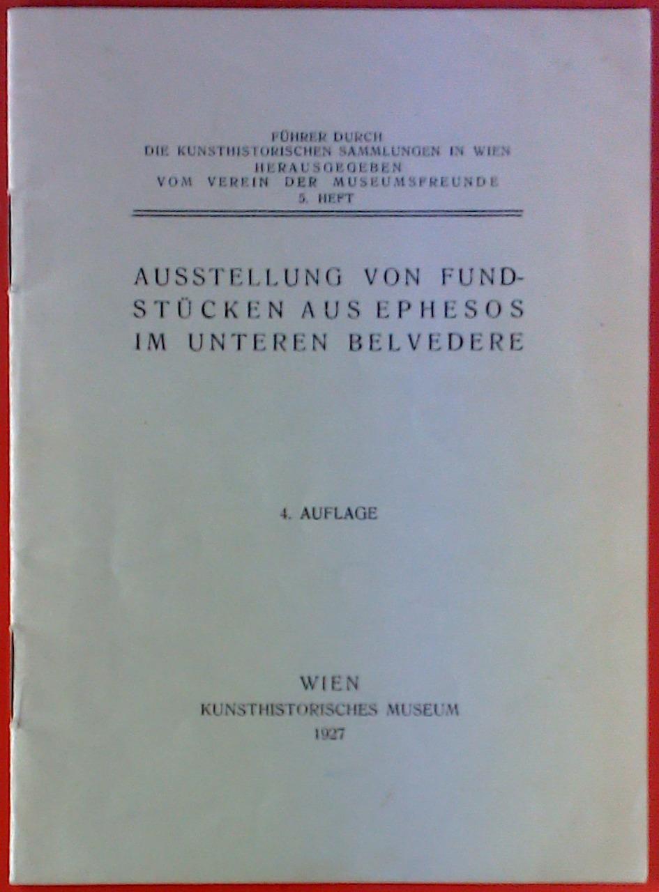 Führer durch die kunsthistorischen Sammlungen in Wien.: Hrsg: Verein der