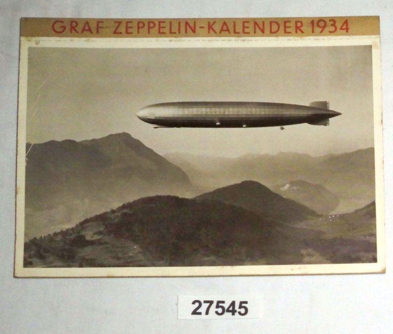 Zeppelin - Kalender 1934: heraugegeben von der