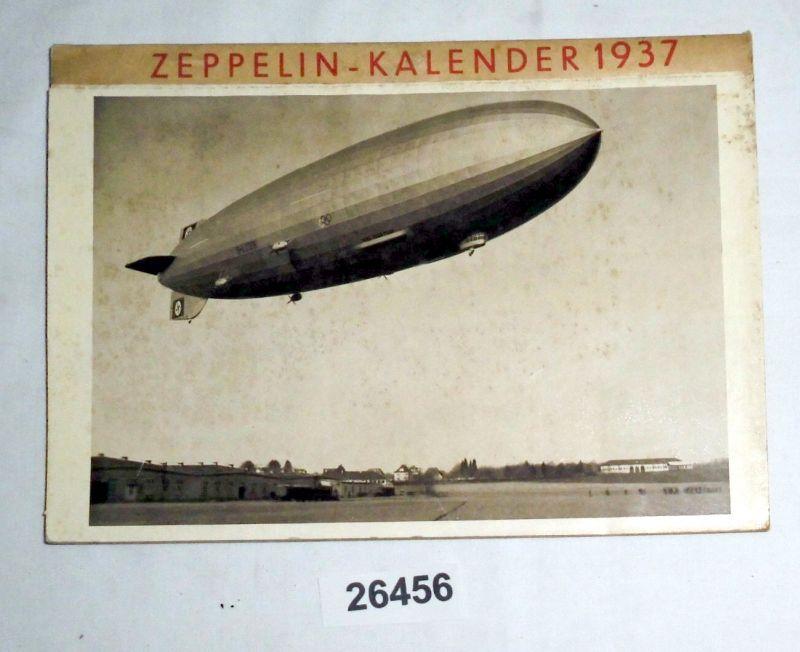 Zeppelin - Kalender 1937: heraugegeben von der