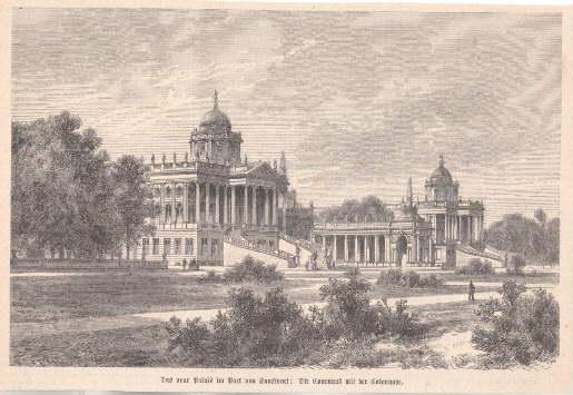Das neue Palais im Park von Sanssouci: Potsdam -
