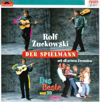 Der Spielmann. 2 CDs : Doppel-CD mit 32 Liedern. Mit all seinen Freunden. Das Beste aus 20 Jahren - Rolf Zuckowski