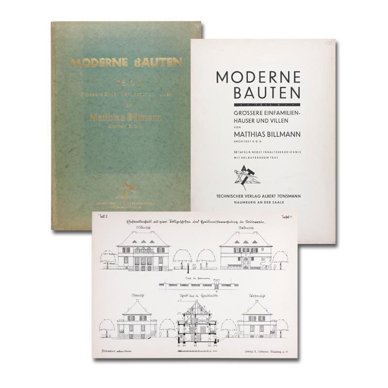 Moderne Bauten. Teil 2 (von 3): Grössere: Billmann, Matthias.