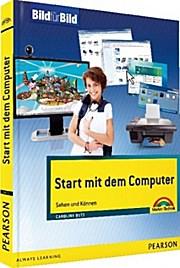 Start mit dem Computer - farbig und visuell lernen - Caroline Butz